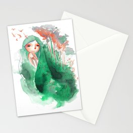 I AM A WET FOREST Stationery Cards