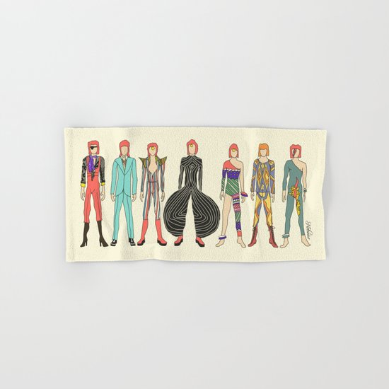 7 Red Head Bowies Hand & Bath Towel