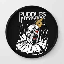 Puddles pity party 2 Wall Clock