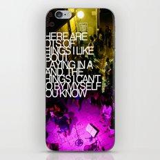 By myself iPhone & iPod Skin