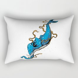 Fusion of Elephants and Whale Rectangular Pillow
