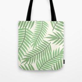 Vintage Florida Palm Fronds 2 Tote Bag