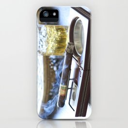 Cigar Time iPhone Case
