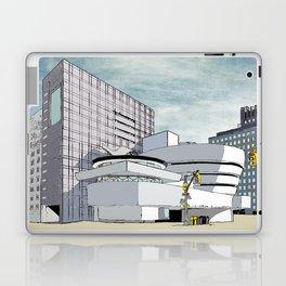 Salomon R. Guggenheim Museum, New York City Laptop & iPad Skin