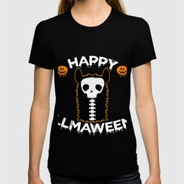 Halloween Llama Alpaca Funny Lama Glama Cool Gift T-shirt