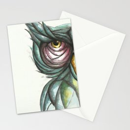 Wise Owl Portrait Stationery Cards