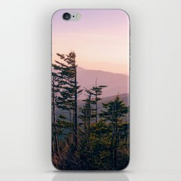 Smokey Mountain Sunset iPhone Skin