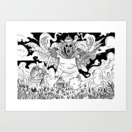 Union is Strenght Art Print