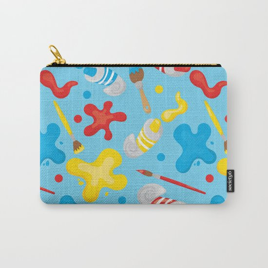 Paint Splatters #2 Carry-All Pouch