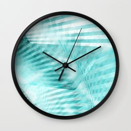 Fabric of Time Wall Clock