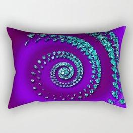 nautilus print Rectangular Pillow