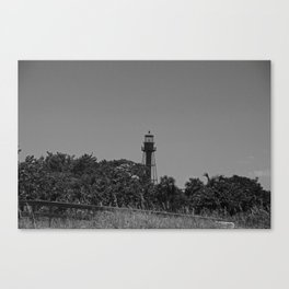 Sanibel Lighthouse in Summer Canvas Print