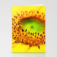 sunflower Stationery Cards featuring Sunflower by Falko Follert Art-FF77