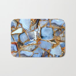 Coffee, Cream and Crystals Please Bath Mat