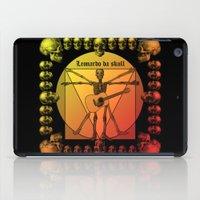 leonardo dicaprio iPad Cases featuring Leonardo Guitar by kuuma