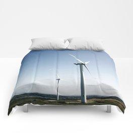 wind turbine in derbyshire Comforters