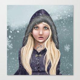 Elska Canvas Print
