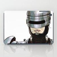 robocop iPad Cases featuring Robocop by Nicole Cuvin