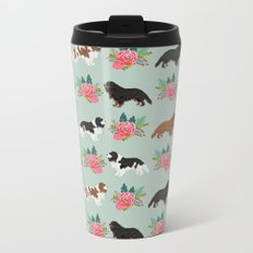 Cavalier King Charles Spaniel must have gift accessories for dog breed owner king charles dog Metal Travel Mug