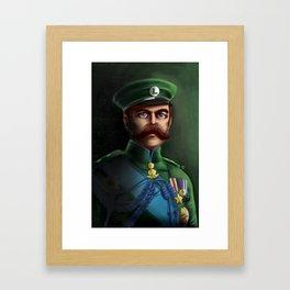 Lieutenant Luigi Framed Art Print