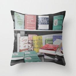 Home Economics Throw Pillow