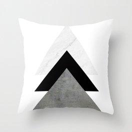 Arrows Monochrome Collage Deko-Kissen