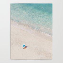 The Aqua Umbrella Poster