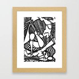HipHop Framed Art Print