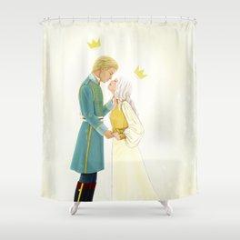 Nikolai and Alina Shower Curtain