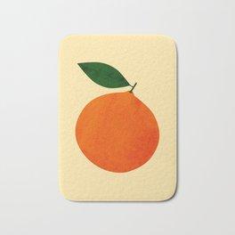Orange Bath Mat