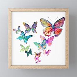 Butterflies Framed Mini Art Print