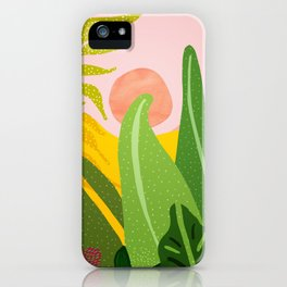 Jungle Morning iPhone Case