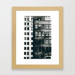 Converge Framed Art Print