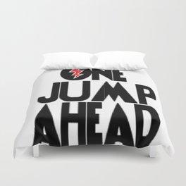 One Jump Ahead Duvet Cover