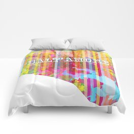 Balt'Amore City Map Comforters