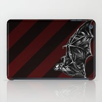 leather iPad Cases featuring Leather Wings by Rad Recorder