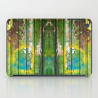 1d iPad Cases featuring Wood Texture 1D by Robin Curtiss