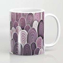 Purple Mermaid Scales Coffee Mug