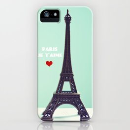 Paris Je T'aime iPhone Case