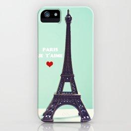 Paris Je T'aime iPhone Case