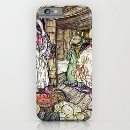 """The Badger's House"" by Arthur Rackham iPhone Case"