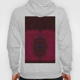 Leather landscape abstracte Hoody