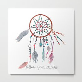 DREAMCATCHER COLLECTION Metal Print