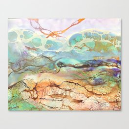 Under Water Living Room Canvas Print