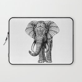Ornate Elephant Laptop Sleeve