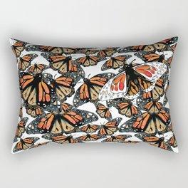 Butterfly background Rectangular Pillow
