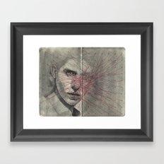 Obscure, Destroy Sketchbook Spread 1 Framed Art Print