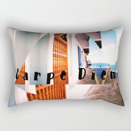 Carpe Diem in Puerto Rico Rectangular Pillow