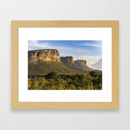 Chapada Diamantina Framed Art Print