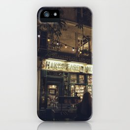 Bookstore with charm iPhone Case